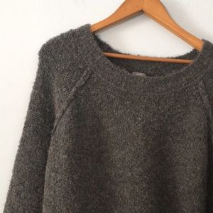 aerie boucle sweater